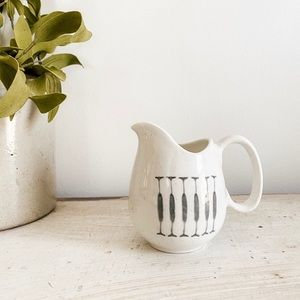 Small retro pitcher